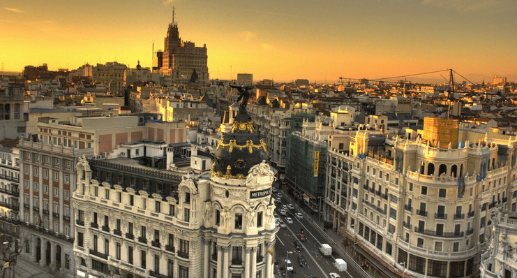 Madrid hen weekends