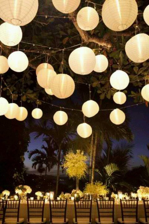 wedding lighting ideas