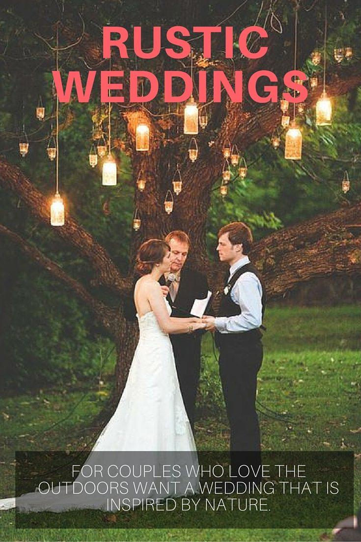 rustic wedding nature