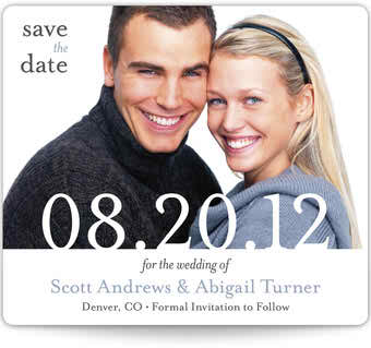 Save the dates magnets