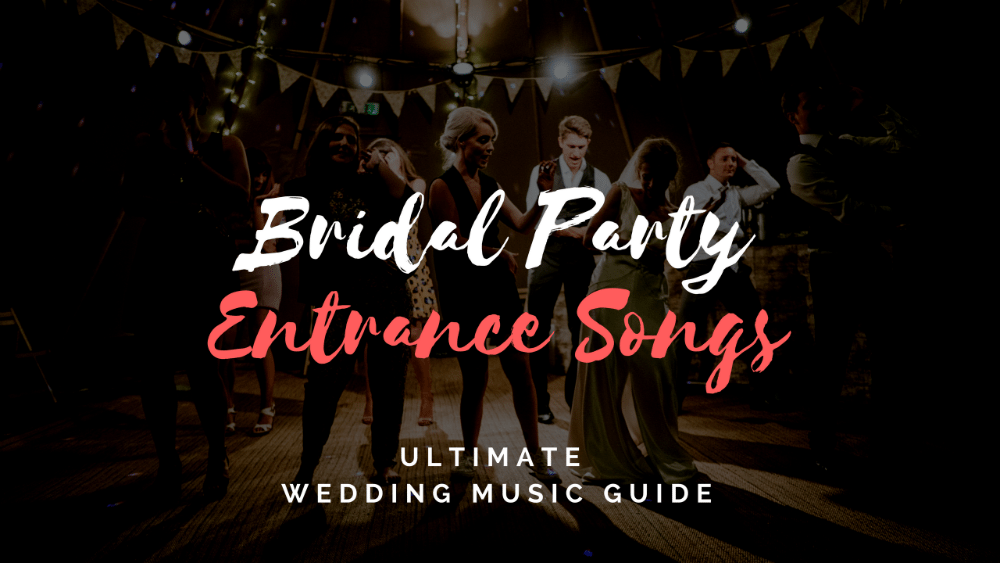 50 Dramatic Wedding Reception Grand Entrance Songs Topweddingsites