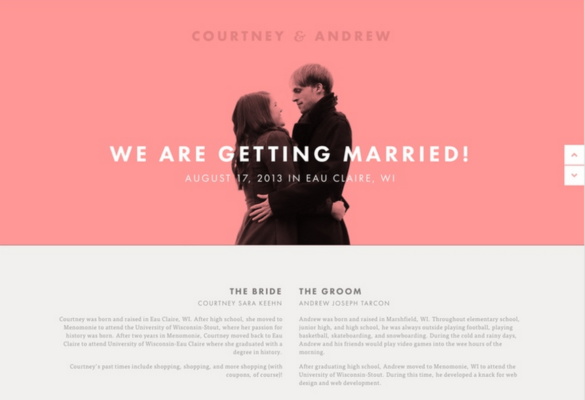 Web site for married people