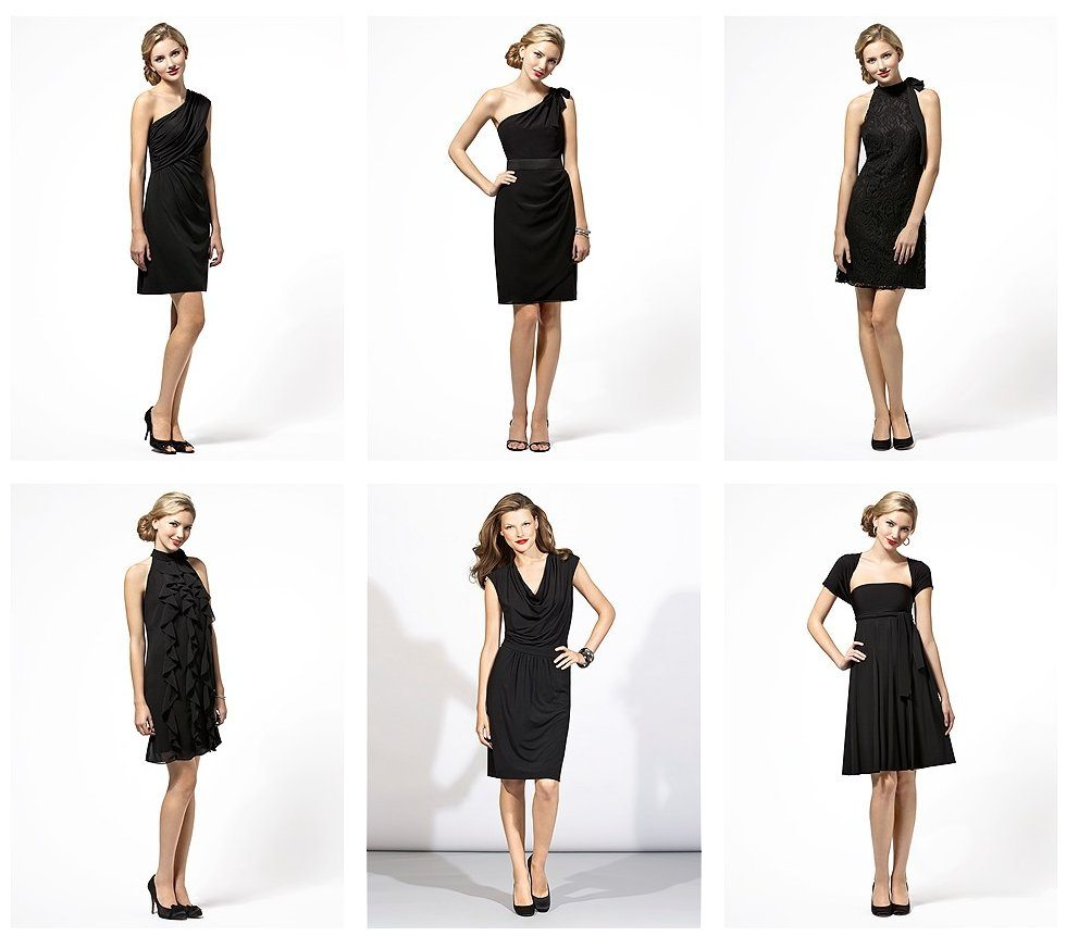 "The Classic ""Little Black Dress"" is a great choice for most wedding guests."