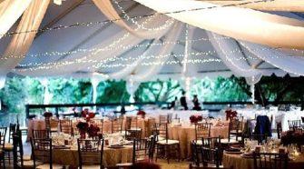 outdoor fall weddings