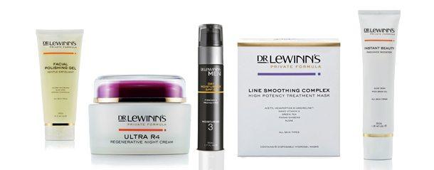 professional skin care dr Lewinns