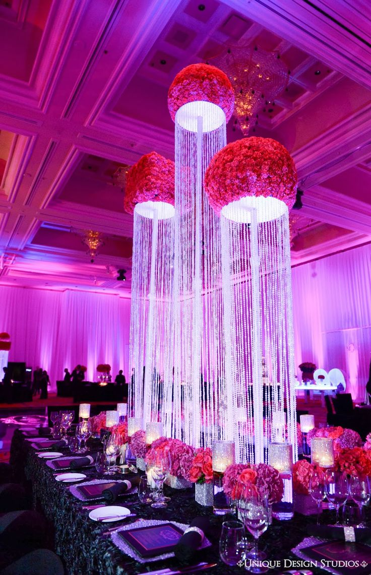 Top trends in las vegas wedidng d cor for The best wedding decorations