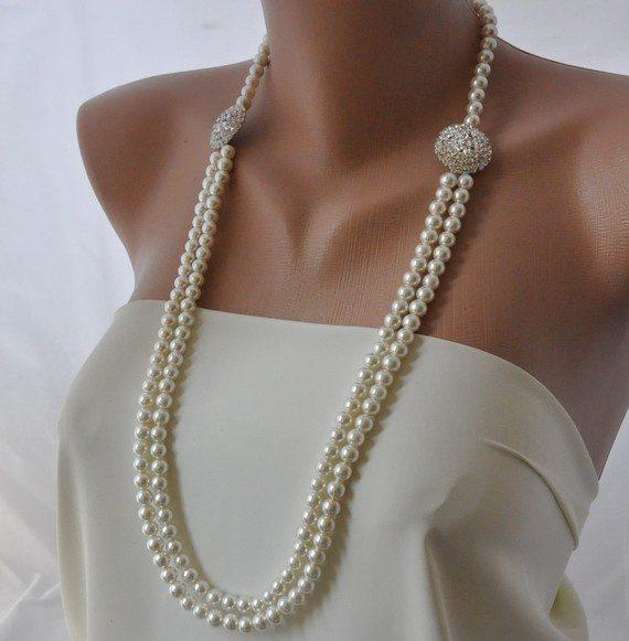 pearls wedding