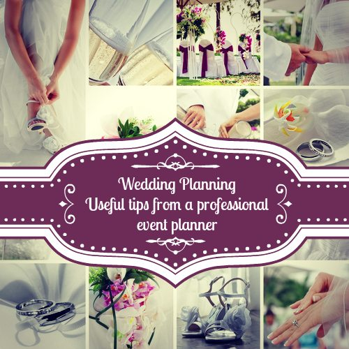 wedding tips from an event professional