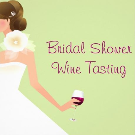 how to host a wine tasting for a bridal shower
