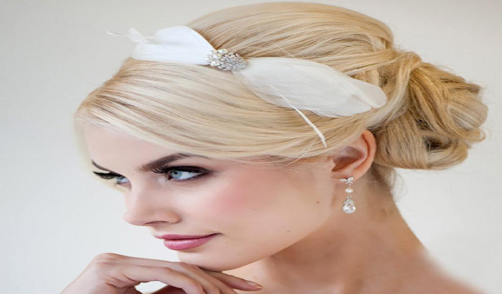 Bride hairstyle
