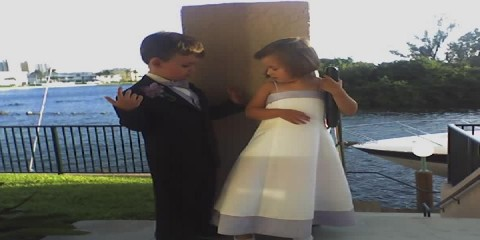The Ring Bearer and Flower Girl