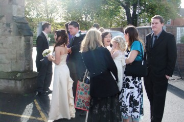 Wedding guests