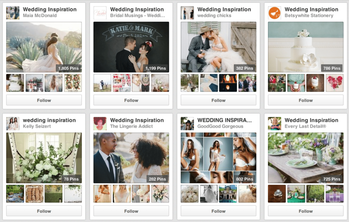 Pinterest Weddings