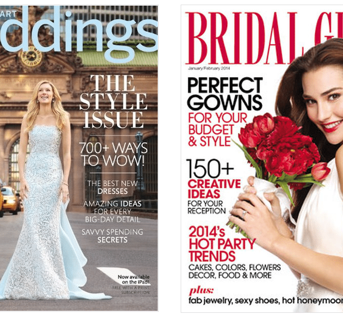 top bridal magazines
