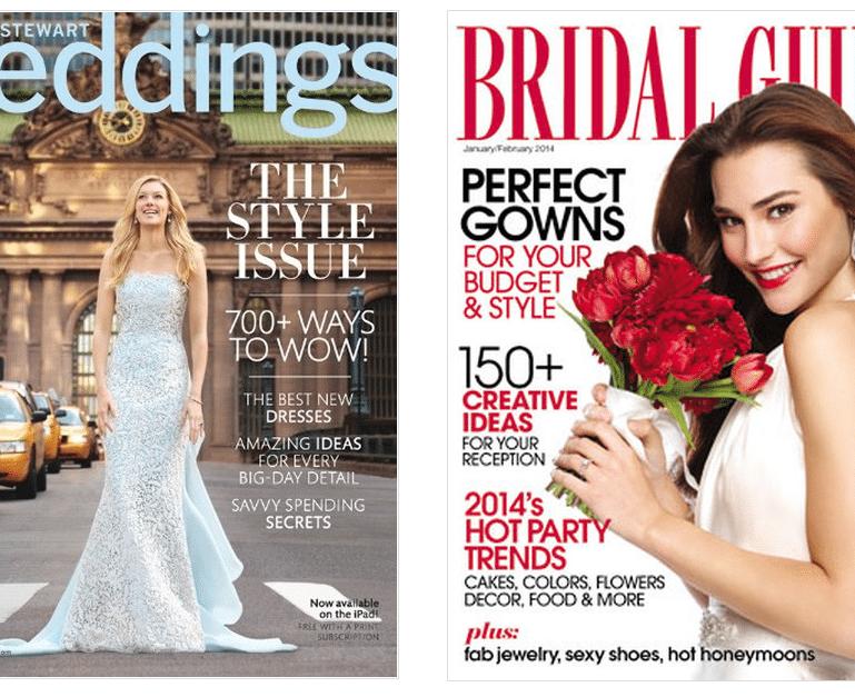 top bridal magazines