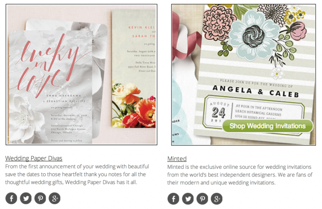 Top 10 Wedding Invitation Websites Our Picks