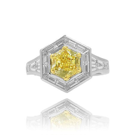 fancy-yellow-hexagonal-diamond-rings-69768.e836d