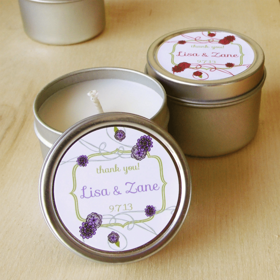 Wedding Gift Candles: Top 10 Beautiful And Creative Wedding Favors