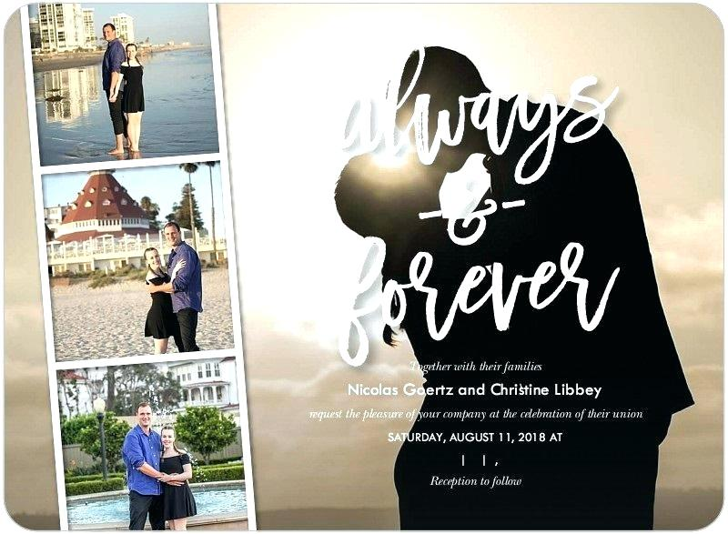 Shutterfly Photos - Always & Forever Invitation Example