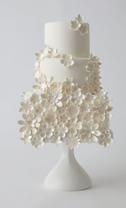 fondant icing and flowers