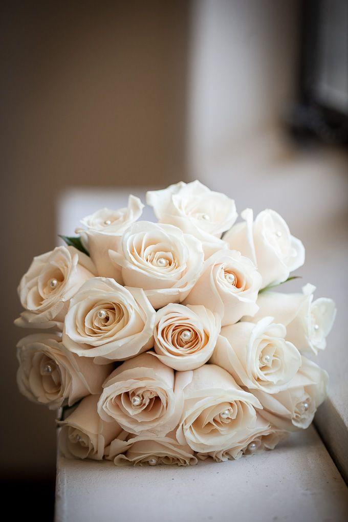 wedding flowers homemade roses