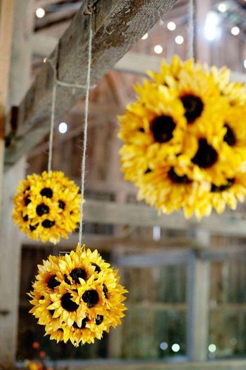 wedding flowers pomanders
