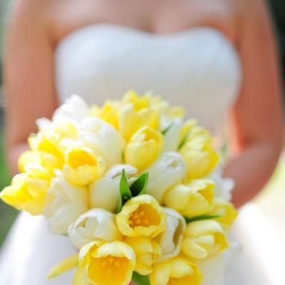 wedding bouquets tulips