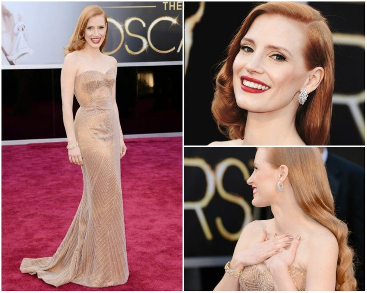 Jessica Chastain Oscars 2013