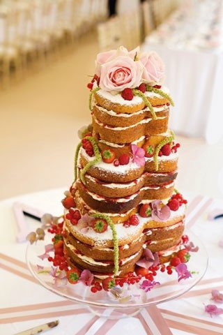heart shaped wedding cakes ideas