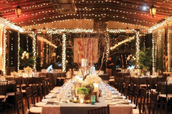 Gorgeous barn wedding