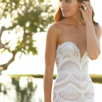 lace wedding gown 2014