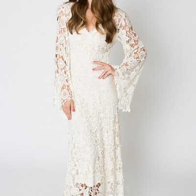 Bohemian Wedding Gown