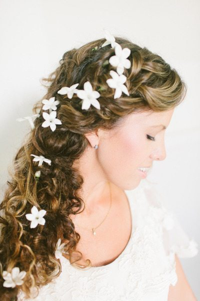 Healthy Bridal Hair