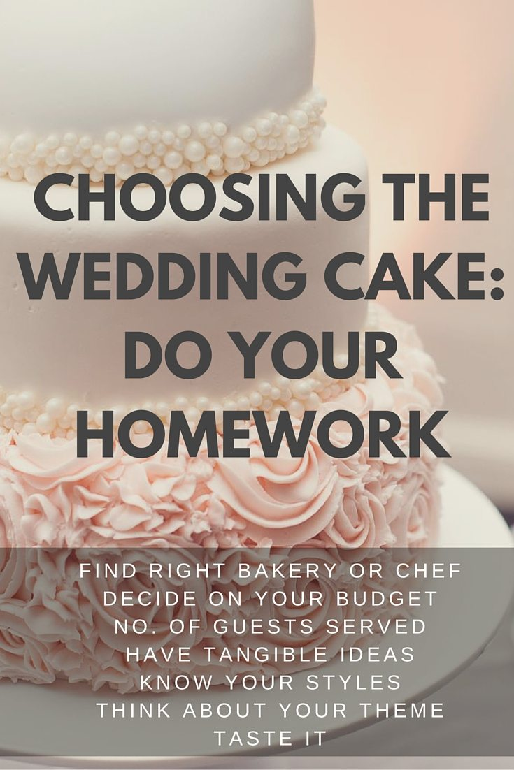 Choosing the Wedding Cake- Do Your Homework (1)