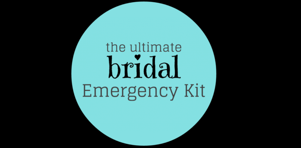 ultimate bridal emergency kit