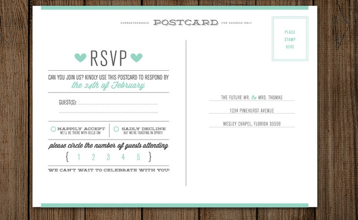 wedding rsvp tips