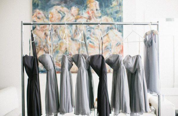 Silver Wedding Dresses