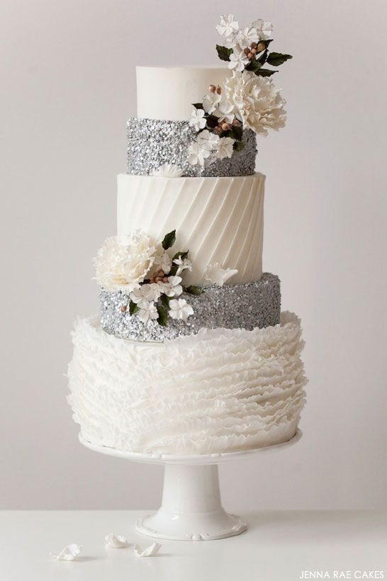 elegant wedding cakes pinterest