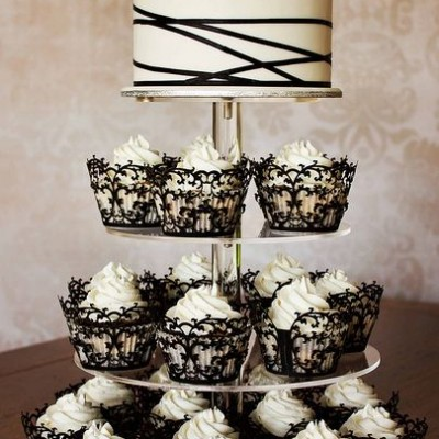 cupcake wedding cakes pictures