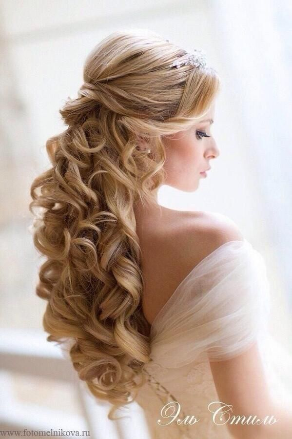 bridal hair how to wear curls to your wedding. Black Bedroom Furniture Sets. Home Design Ideas