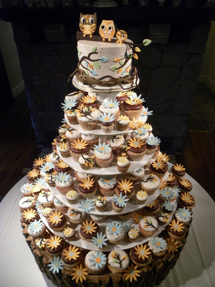 18 Totally Unique Wedding Cake Cupcake Ideas Style