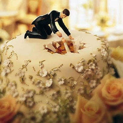 funny cake toppers for weddings