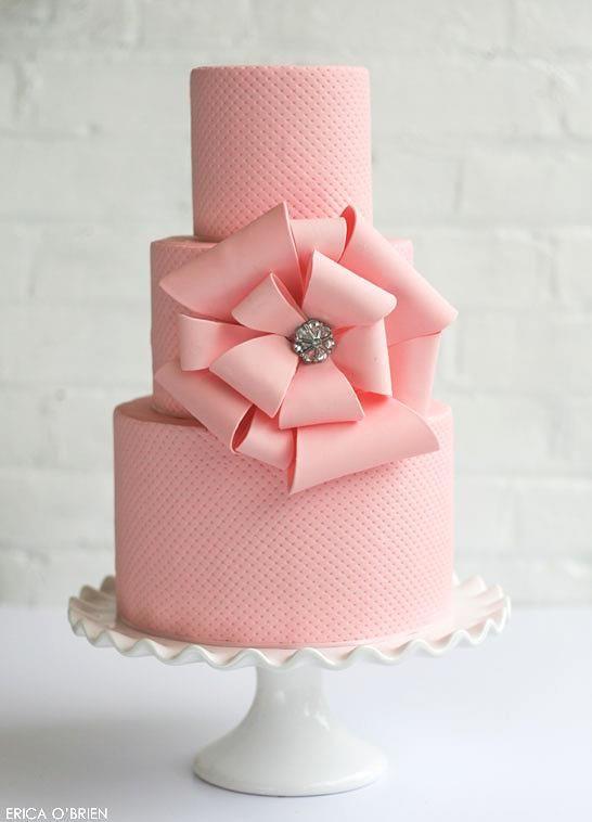 Pink Wedding Cake Pinterest