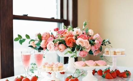 Garden Pink Wedding
