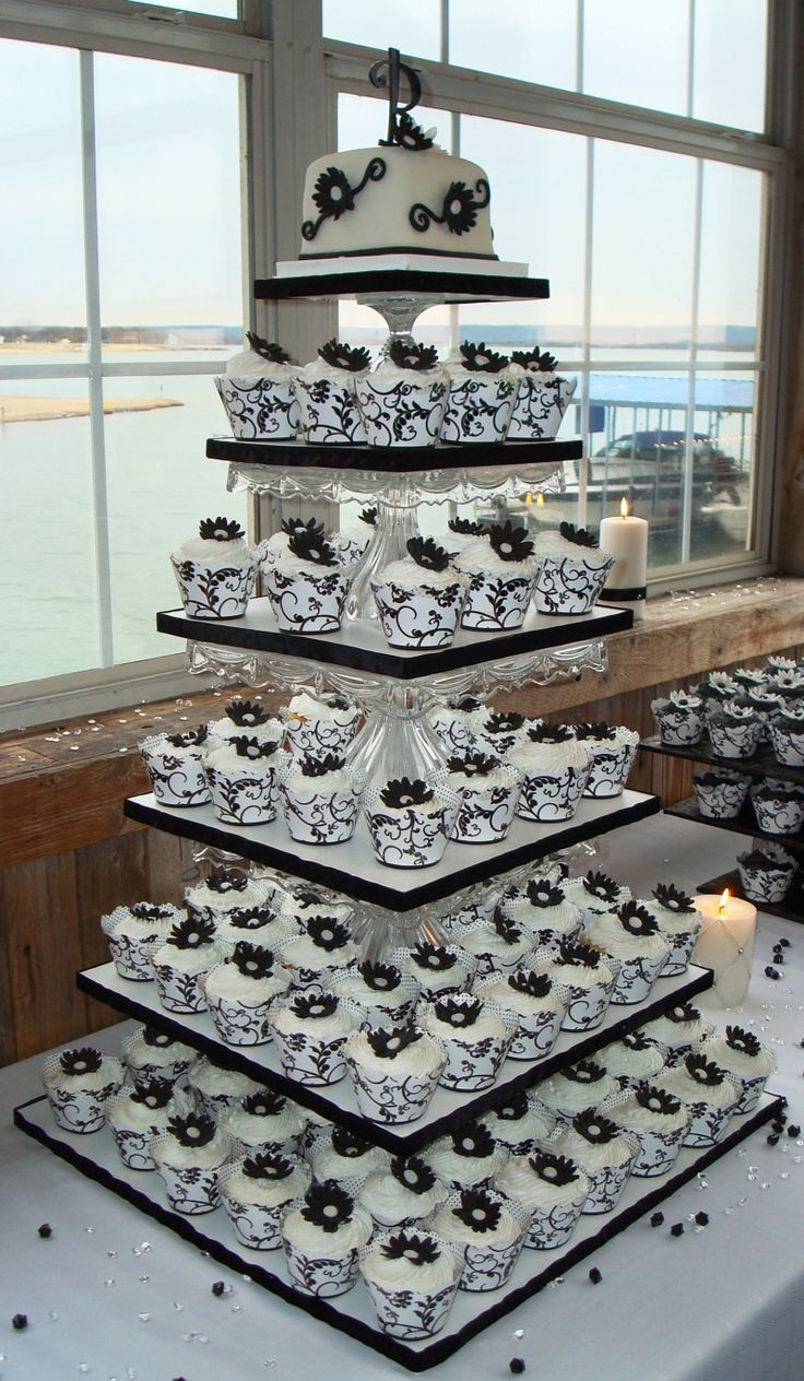 23 mouthwatering cupcake wedding cakes that will rock your wedding world. Black Bedroom Furniture Sets. Home Design Ideas