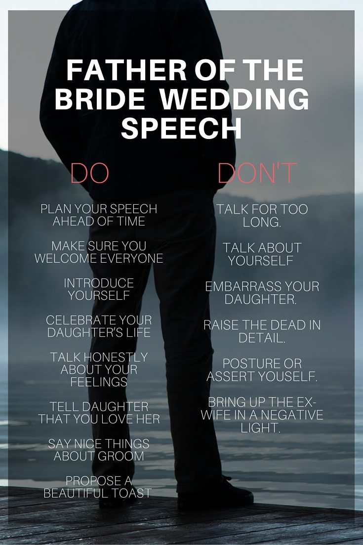Father Of The Bride Speech The Ultimate Guide Topweddingsites