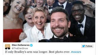 ellen oscars tweet
