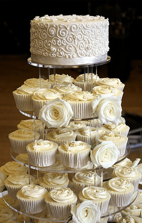Wedding Cupcake Ideas.23 Mouthwatering Cupcake Wedding Cakes That Will Rock Your