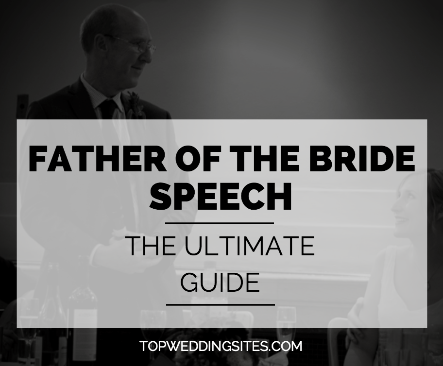 father of the bride speech