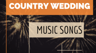 country wedding music songs